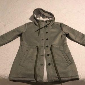 Beautiful Roxy fleece lined coat/sweatshirt.